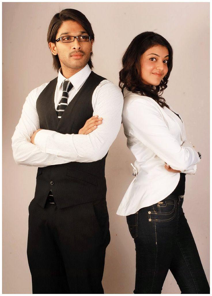 Allu Arjun with Kajal Agarwal at Arya 2