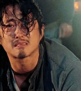 I'm thinking Glenn has used up all 9 Lives by now. {More like 999} He's a STRONG POSSIBILTY. The Walking Dead -|- Fear The Walking Dead