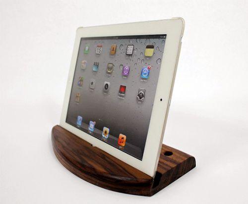 ipad stand http://www.iwoodlab.com