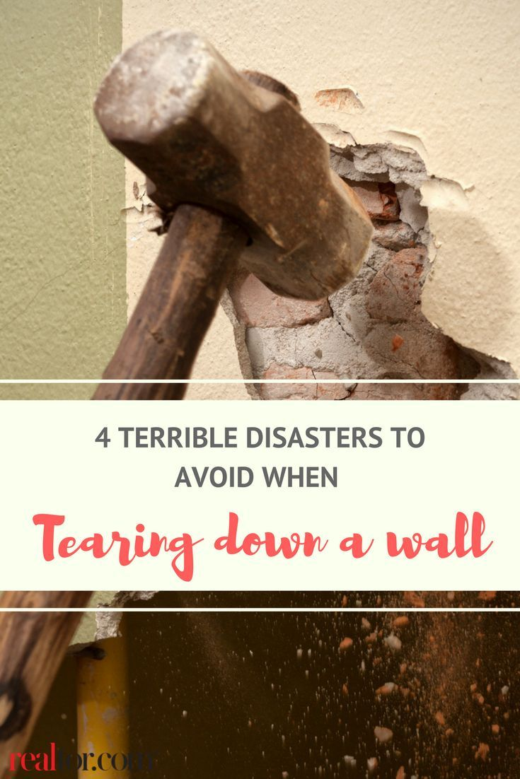 4 Terrible Tragedies That May Befall You If You Tear Down That
