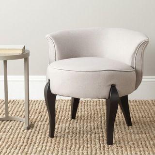 Safavieh Mora Taupe (Brown) Vanity Chair (MCR4692A)