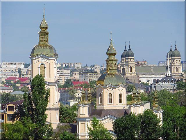 Iasi-Romania panorama view Moldova Moldavia