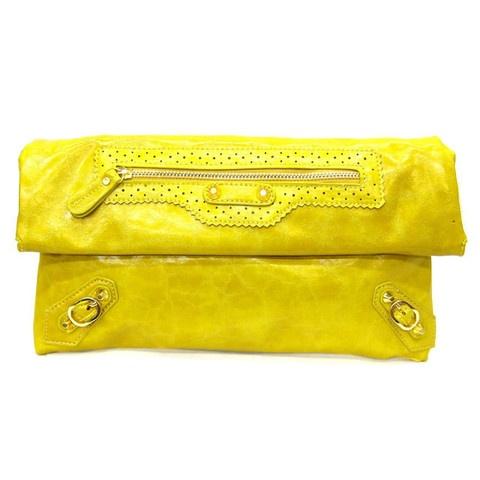 Neon Yellow California Clutch