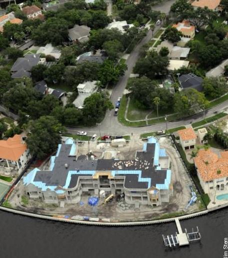 Alex Rodriguez Tampa Mansion