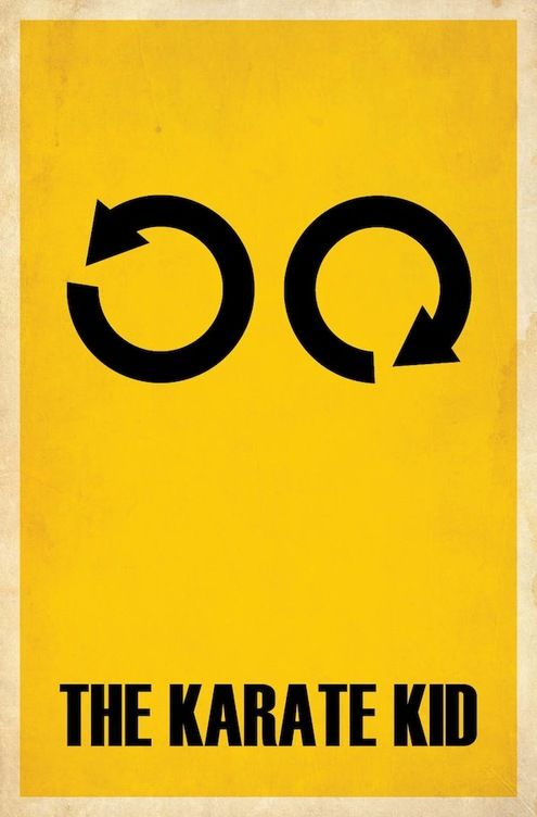 Clever Minimalist Movie Posters