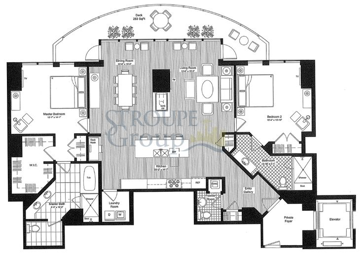 1000 images about home floorplans condos on pinterest for Luxury duplex plans