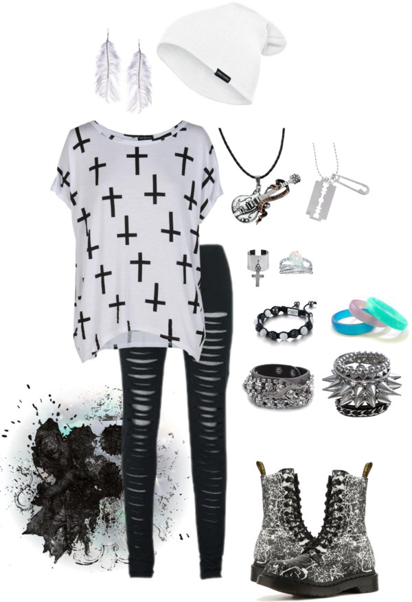 """I will be me."" by silence-hospital ❤ liked on Polyvore"