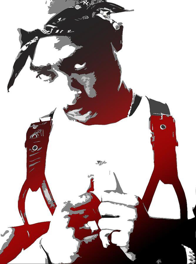 tupac stencil picture tupac art tupac art stencil art