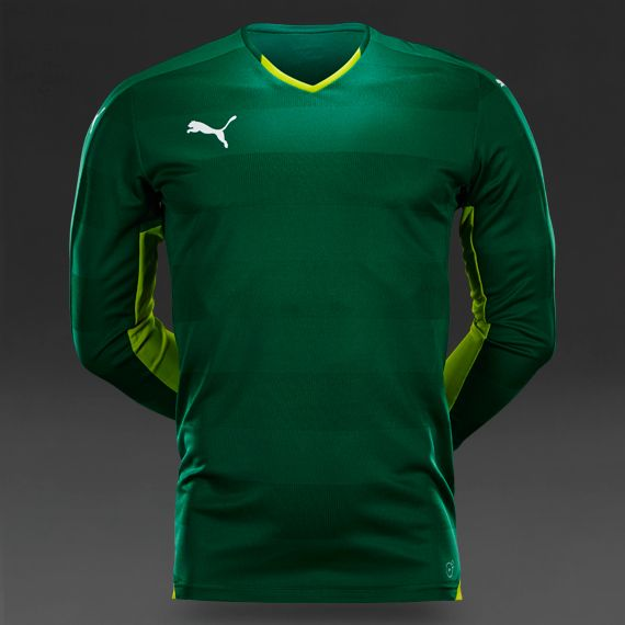 Puma Stadium LS Jersey - Power Green-White