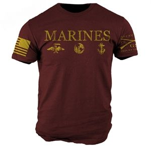 You can get a discount on this Grunt Style - Marines T-Shirt on GovX! If you sign up here, you get $15 off your first order!