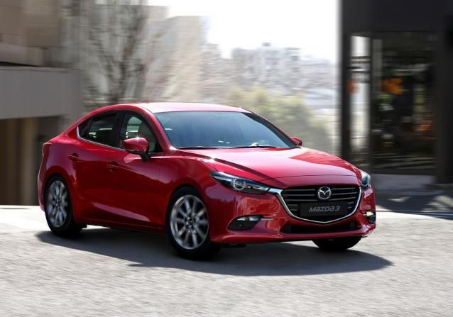 All 3i trims of the 2017 Mazda 3 Sedan will be powered by a four-cylinder, SkyActive powertrain with the displacement of 2.0 liters. Price and release date. #mazda #sedan #2017Mazda3Sedan #2017Mazda3 #Mazda32017