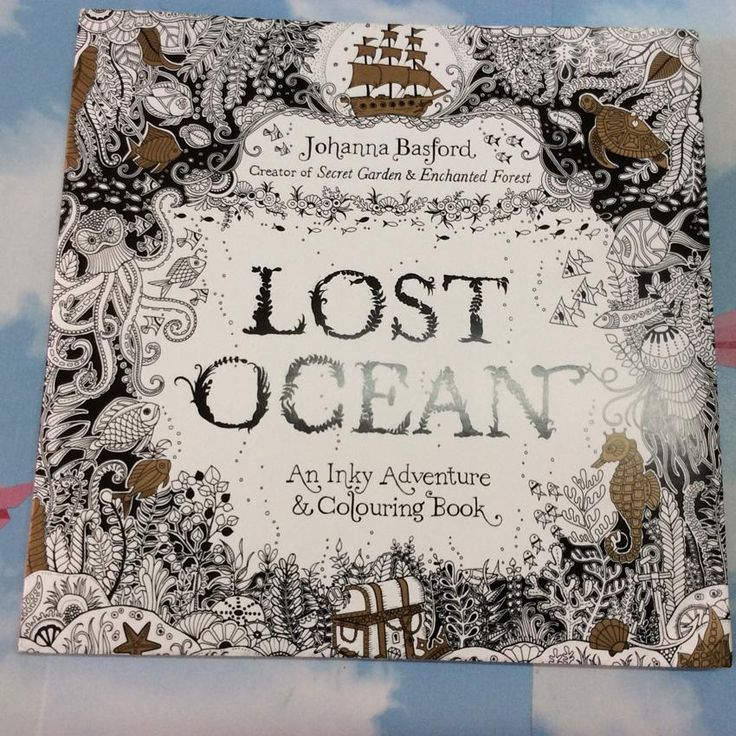 Lost Ocean English Edition Coloring Book