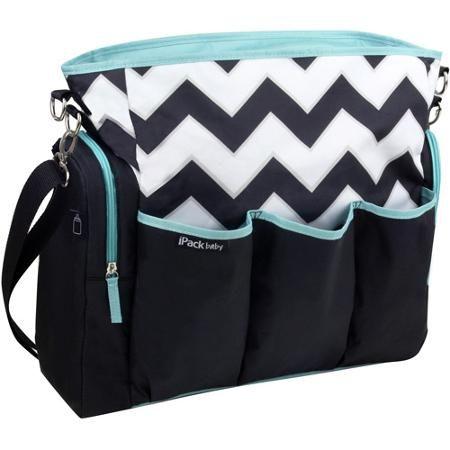 iPack Diaper Bag, Chevron - Walmart.com