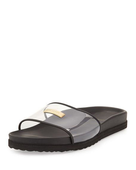 05252356a3f BUSCEMI Men S Crystal Pool Slide Sandal