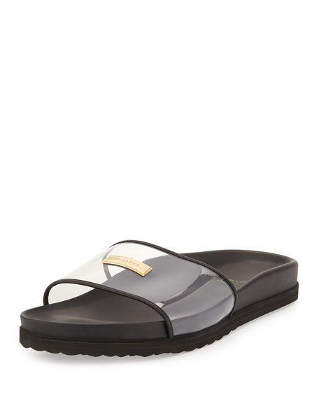 ca399a76d849 BUSCEMI Men S Crystal Pool Slide Sandal