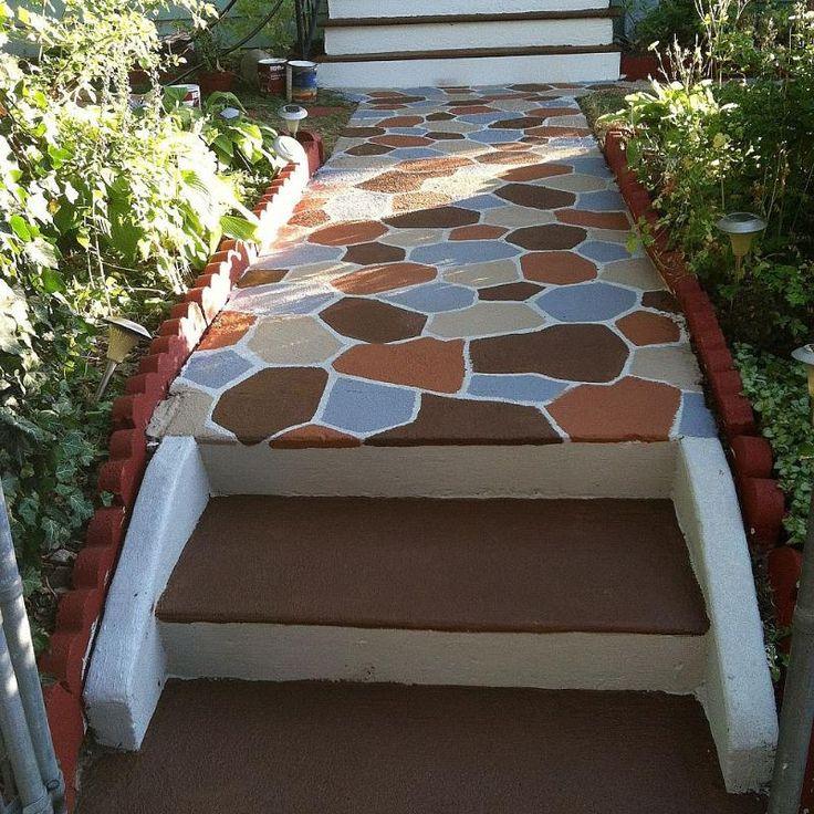 17 Best Ideas About Paint Concrete On Pinterest: Top 114 Ideas About DIY - Concrete On Pinterest