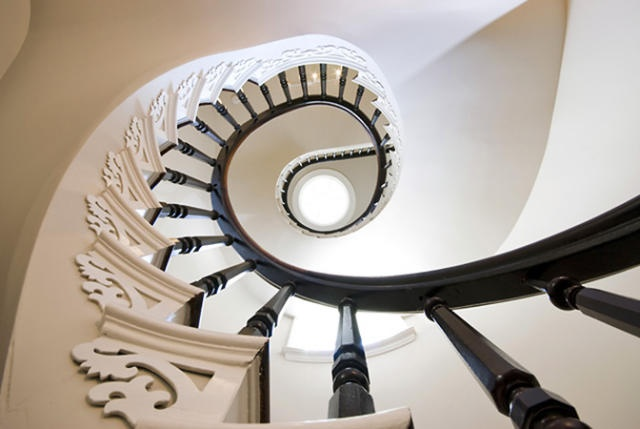 staircase: White Staircase, Photo