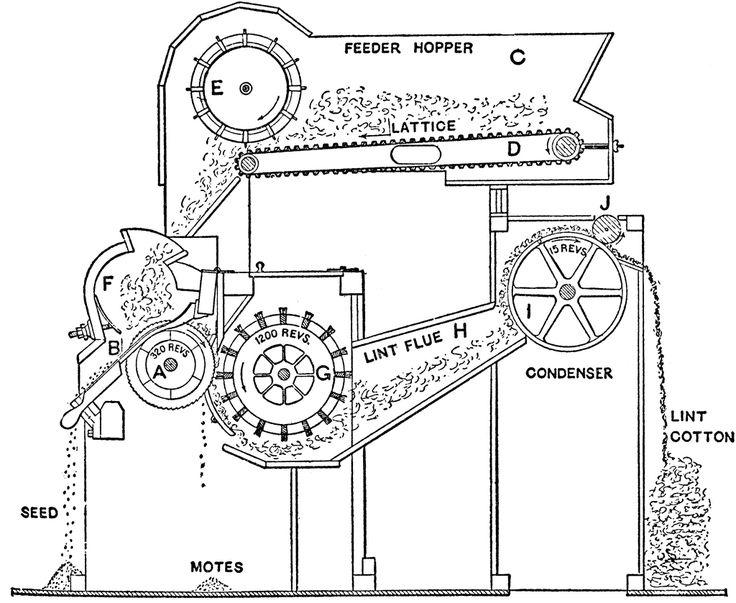 CC2 wk 13 cotton gin