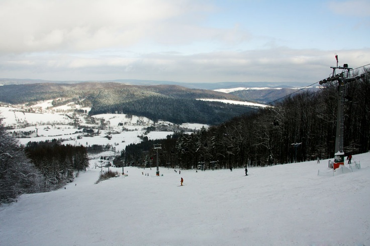 Ski slope Laworta