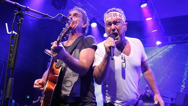 Jimmy Barnes and Ian Moss - Cold Chisel