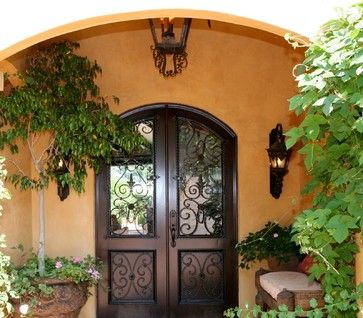 Entry Photos Old World Tuscan Design, Pictures, Remodel, Decor and Ideas - page 8