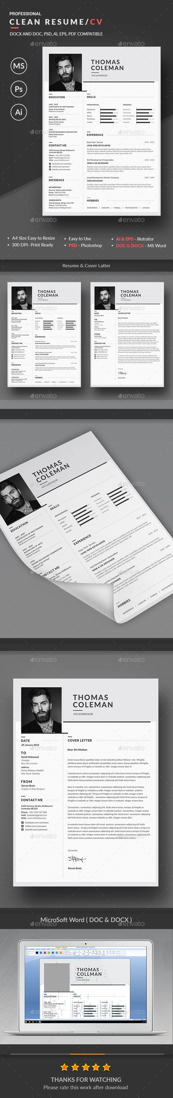 Best 100+ CV\'s van nu images on Pinterest | Resume design, Creative ...