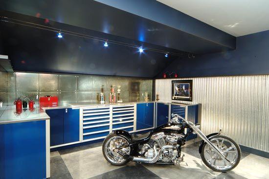 Stylish Home Luxury Garage Designs