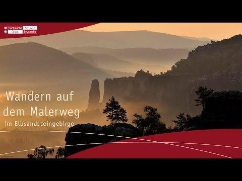 Der Malerweg - GPS Wandern - Karte Sächsische & Böhmische Schweiz