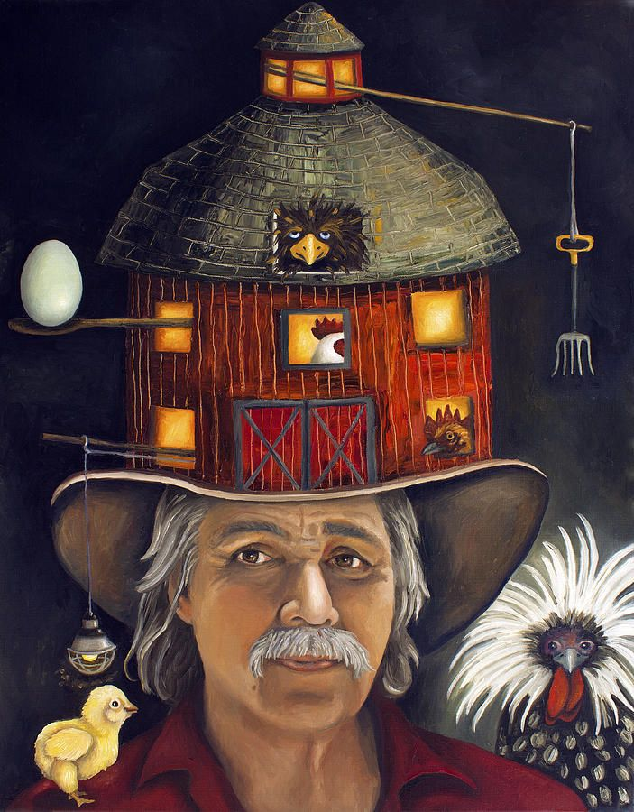 The Farmer Painting by Leah Saulnier The Painting Maniac - The Farmer Fine Art Prints and Posters for Sale