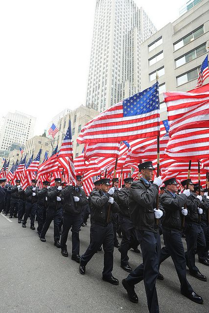 flag day parade new york