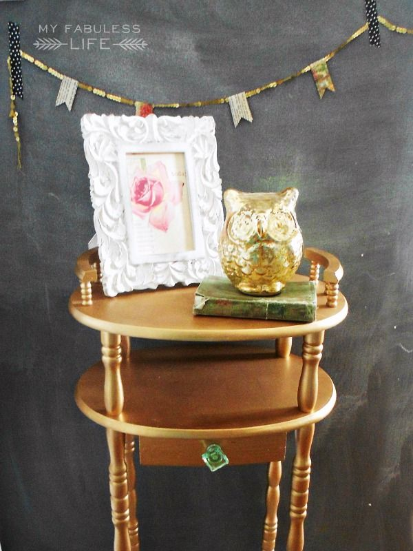 How to Spray Paint Furniture. Tips and tricks #diy #spray #paint