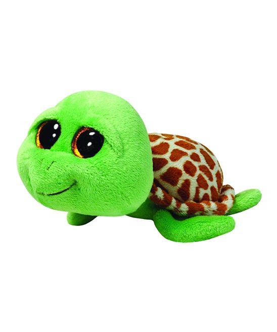Zippy the Green Turtle Large Beanie Boo