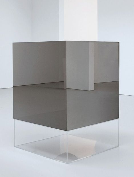 what ever you may think this is, it can never be, as it is Untitled / Larry Bell, 1969 minimal, minimalist, minimalism, art