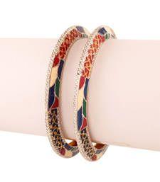 Buy Dashing Gold plated Antique Bracelet bangles-and-bracelet online