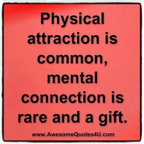 Mental connection the biggest gift | Quotes | Pinterest