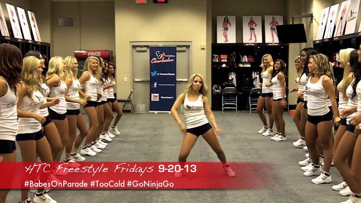 OHL! ITSAH FREESTYLE FRIDAY FUNLIFE MOTION with them Texans Cheerleaders! SHOW LOVE! SHOW LUV!! GetUSUM:)