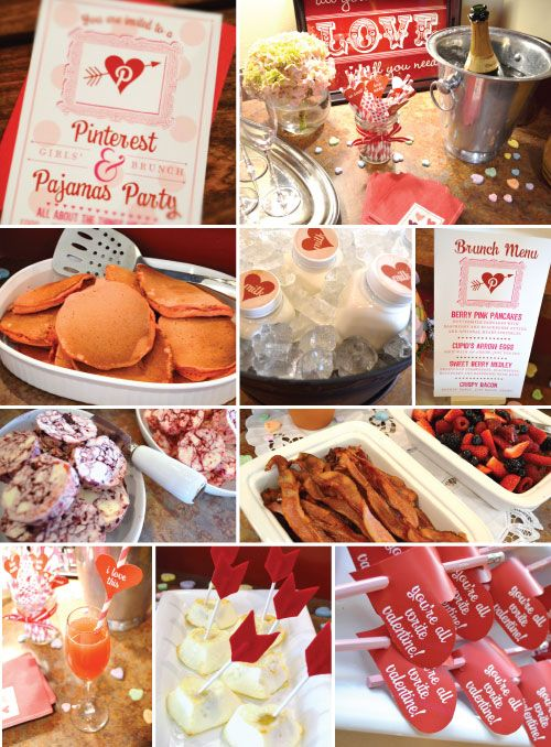 Pinterest & Pajamas partyPinterest Parties, Pinterestparti, Pancakes Parties, Valentine Parties, Parties Ideas, Pinterest Valentine, Pajamas Parties, Pinterest Birthday Parties, Parties General