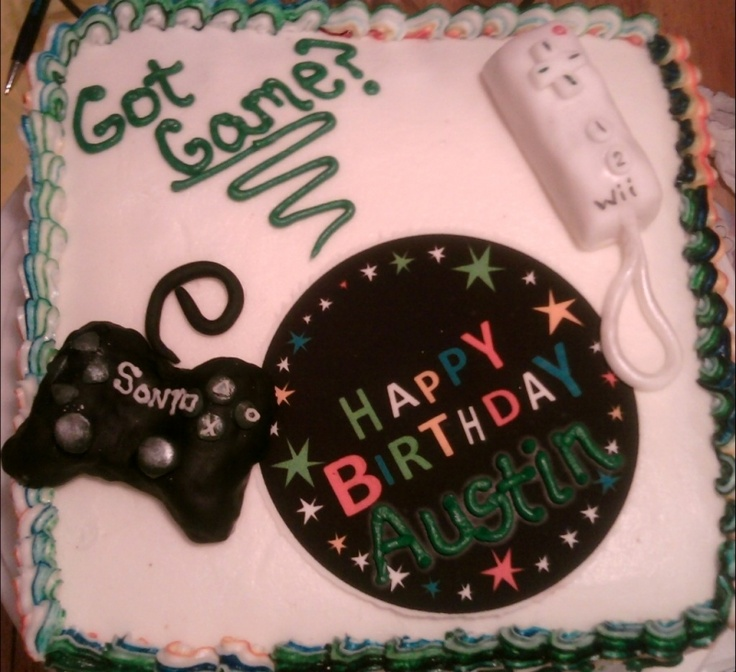 Best Birthday Ideas Images On Pinterest Video Game Cakes - Video game birthday cake
