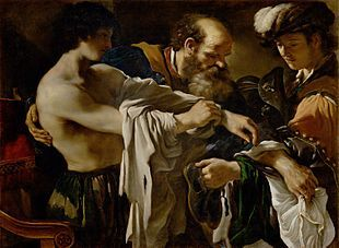 Guercino, Il ritorno del figliol prodigo, Kunsthistorisches Museum, Vienna