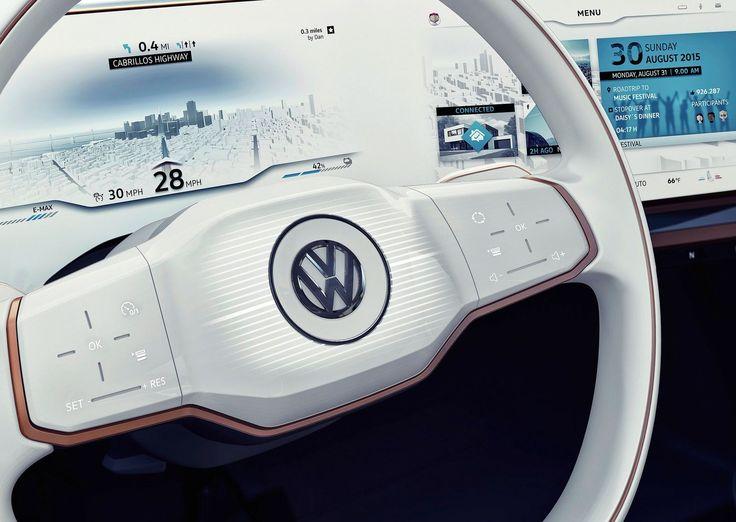 First Sight: Volkswagen Budd-e concept - Car Design News