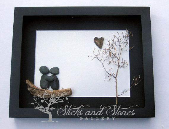 Pebble Art Gifts-Pebble Art-Personalized by SticksnStone on Etsy