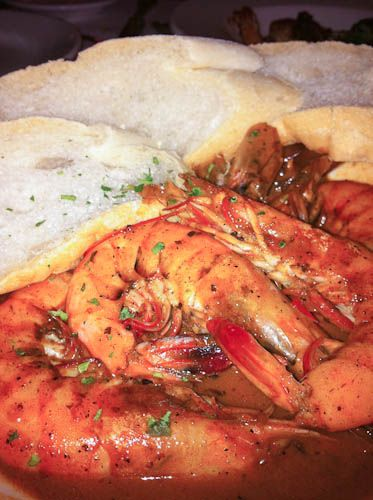Barbequed Shrimp (Mr. B's Bistro, New Orleans)