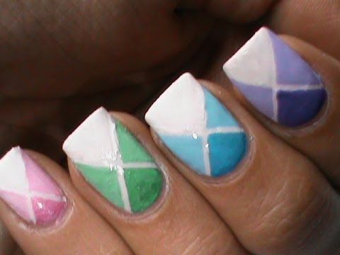 Videos Of Simple Nail Art Designs To Bend Light