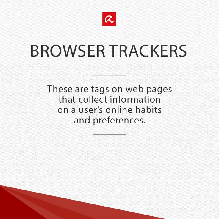 What the heck are #BrowserTrackers? Find out more in our glossary! #ITSecurity #infosec