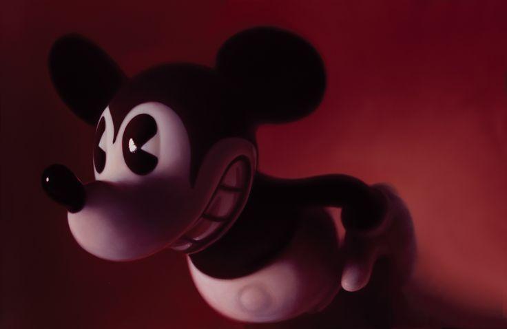 Gottfried Helnwein: Red Mickey