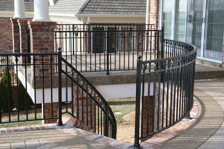 Front Elevation Railing Designs : Best images about brick houses on pinterest cap d