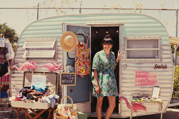 Babeliscious Mobile Boutique   Vintage Airstream   Pop Shop Houston Festival Photos   May 2014