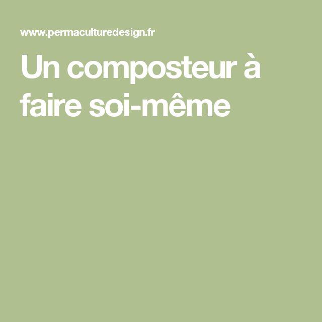 Meer Dan 1000 Idee N Over Composteur Op Pinterest Composteur En Bois Faire Un Composteur En