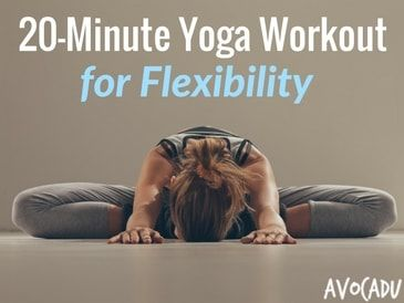 Looking for a beginner yoga workout routine for flexibility? Check this out! Cindie Corbin shows a full 20-minute yoga poses for flexibility and pain relief!