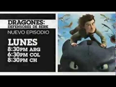 Cartoon network LA Dragones defensores de berk Nuevos episodio Marzo 201...